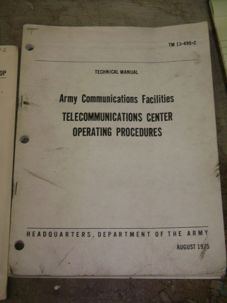Telecommunications Center Operating Procedures