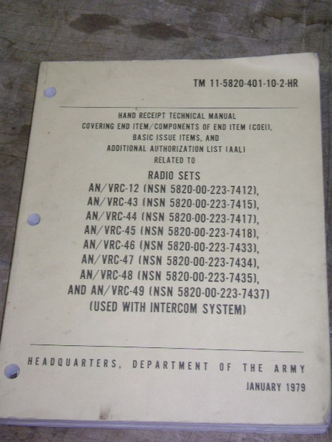 Radio Sets Technical Manual