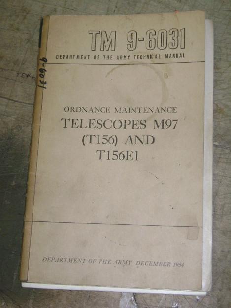 Telescopes M97 (T156) and T156E1 Manual