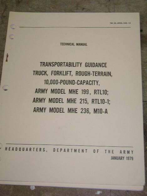 Transportability Guidance Technical Manual
