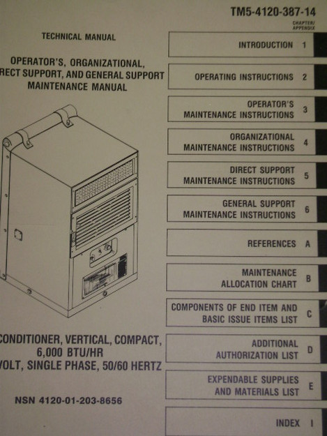 Vertical/Compact Air Conditioner Manual