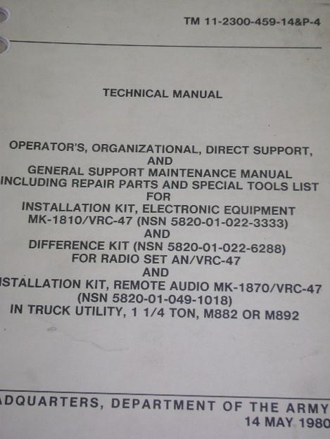 Installation Kit Technical Manual