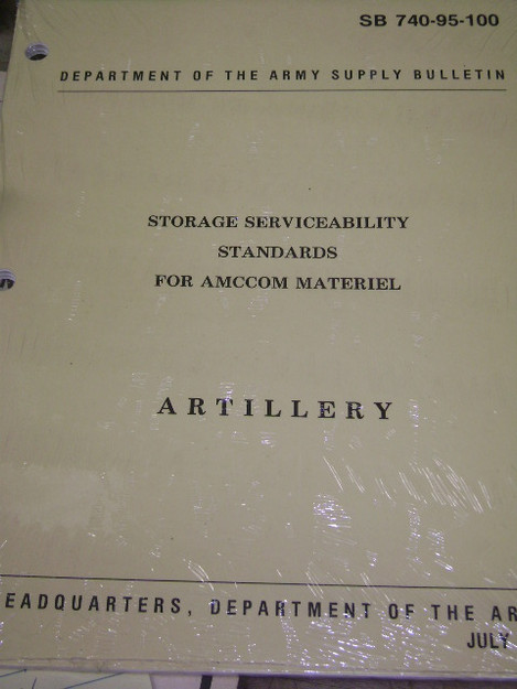 Storage Serviceability Standards for AMCCOM Material