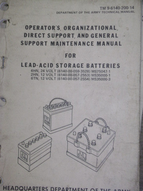 Lead-Acid Battery Storage Technical Manual