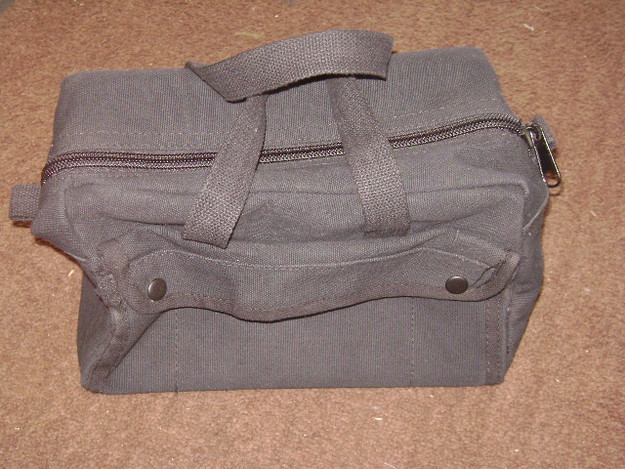 Black Small Mechanics Tool Bag