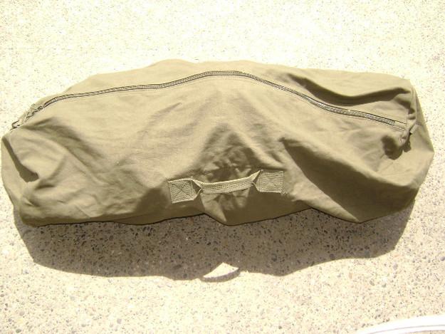 "Olive Drab 25"" x 42"" Zipper Duffle Bag"
