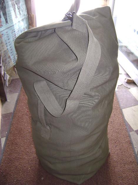 "Olive Drab 25"" x 42"" Topload Duffle Bag"