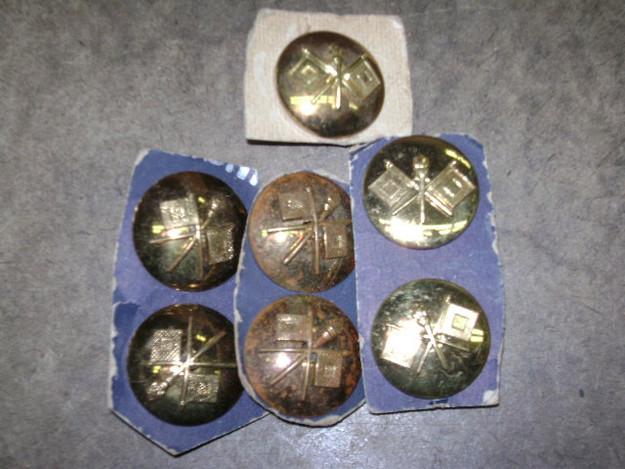 U.S. Military WWII Collar Insignia (Signal Corp) Pin