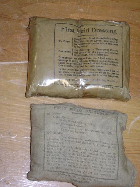 WWII British First Aid Field Dressing