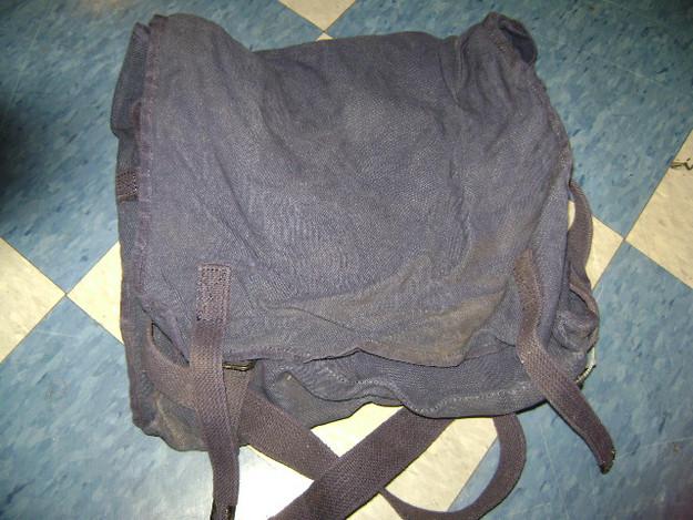 Italian Military Musette Bag (12″ x 9″ x 4″)