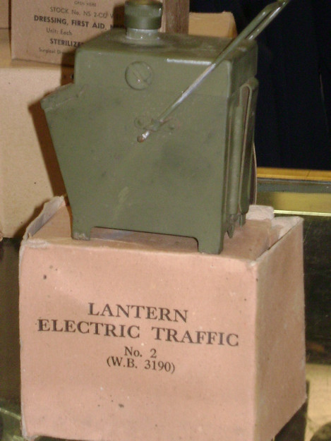 WWI Electric Traffic Lantern
