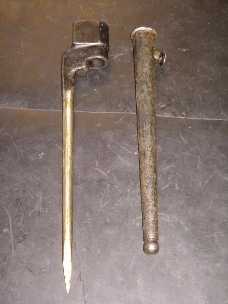 British Enfield Spike Bayonet