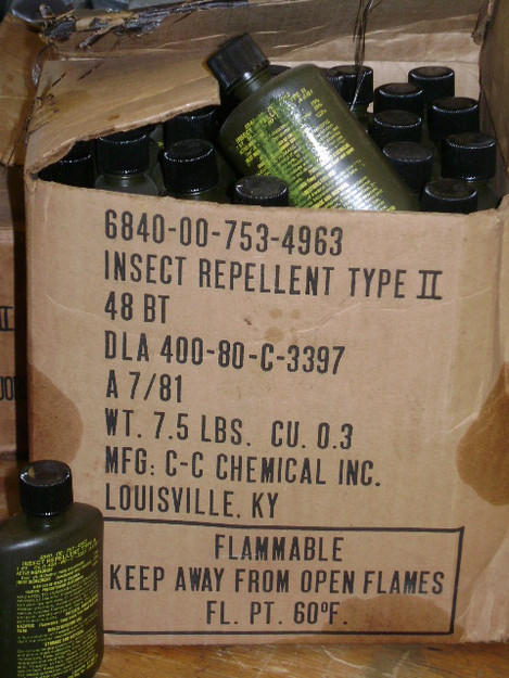U.S. Military Insect Repellent (type II)