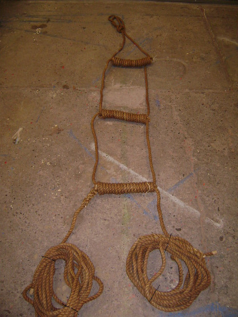 Vintage Rope Ladder