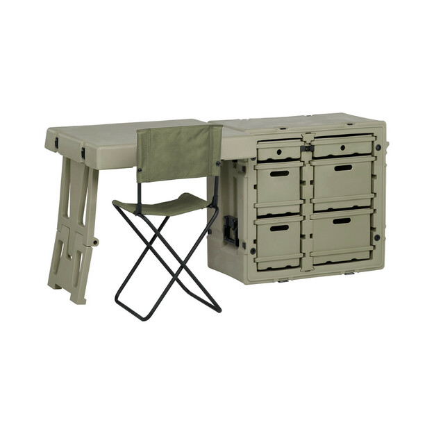 Hardigg Pelican Military Field Desk - manufacturer photo when new (actual product shows signs of surface wear)