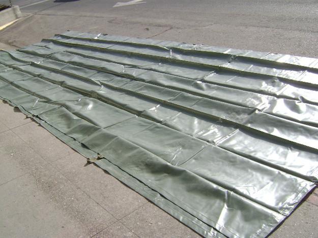 U.S. Military 26′ x 22′ Rubberized Nylon Tarp