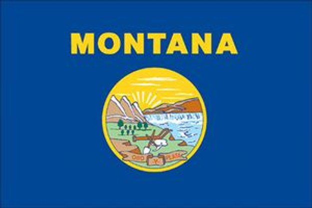 #35332260 Spectrapro 3' x 5' Polyester Montana Flag