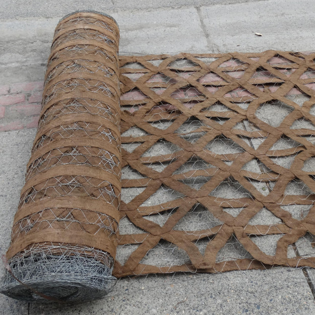 U.S. Army WWII Camouflage Netting Roll in Brown