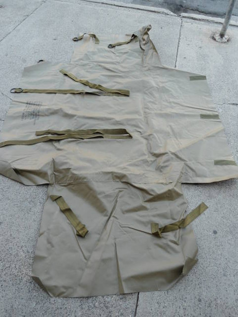 U.S. Military Camouflage/Radar Scattering Cover (empty)
