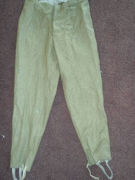 Romanian Military Wool Pants