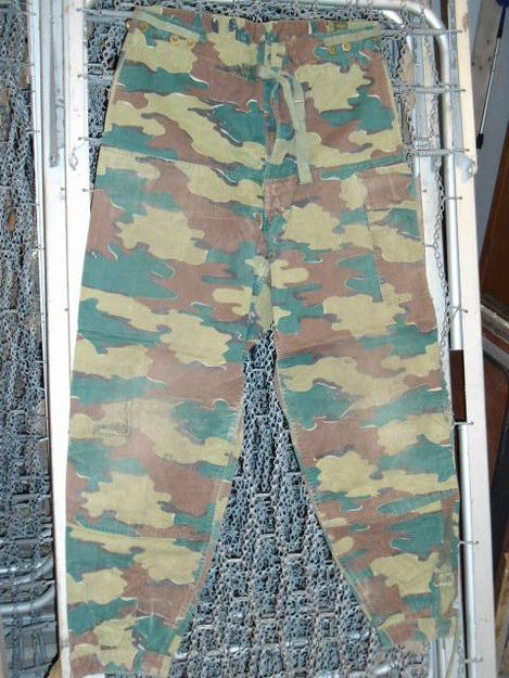 Belgian Army Camouflage Field Pants