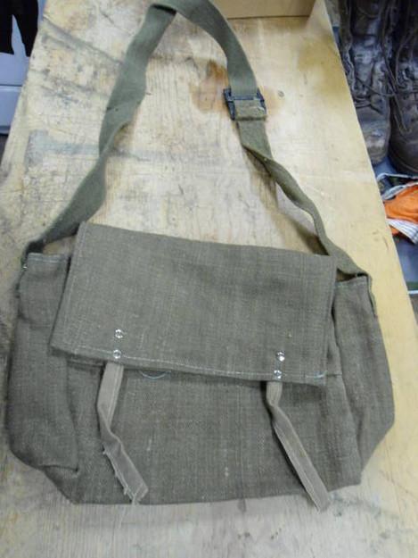 Italian Military Musette Bag (10″ x 8″ x 4″)