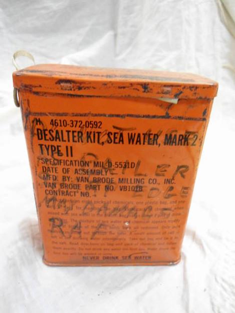 U.S. Navy Mark 2 Sea Water Desalter Kit