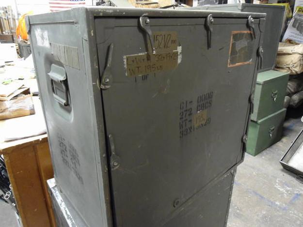 U.S. Army Aluminum Storage Crate