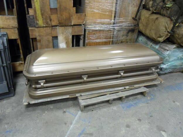 U.S. Military Korean War Era Burial Casket