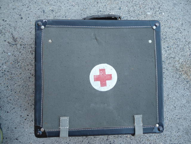 Serbian Army First Aid Backpack (empty)