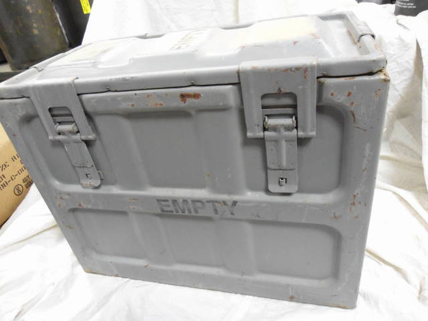 U.S. Navy Small Arms Ammo Box