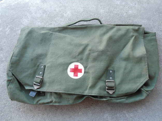 Swedish Red Cross Bicycle Bags