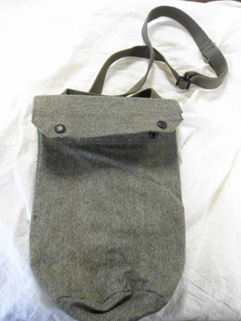 Swiss Army Salt 'n' Pepper Gas Mask Bag