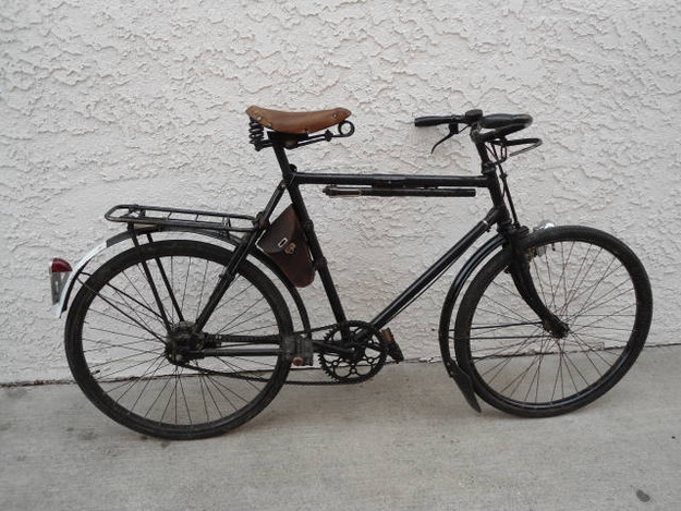 Vintage Pre-WWII Swiss Army MO-05 Bicycle (dated 1932)