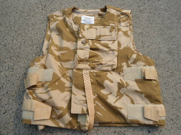 English Army Combat Body Armour Vest