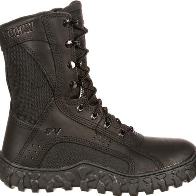 Rocky Men's S2V 102 Tactical Military Boots (black)