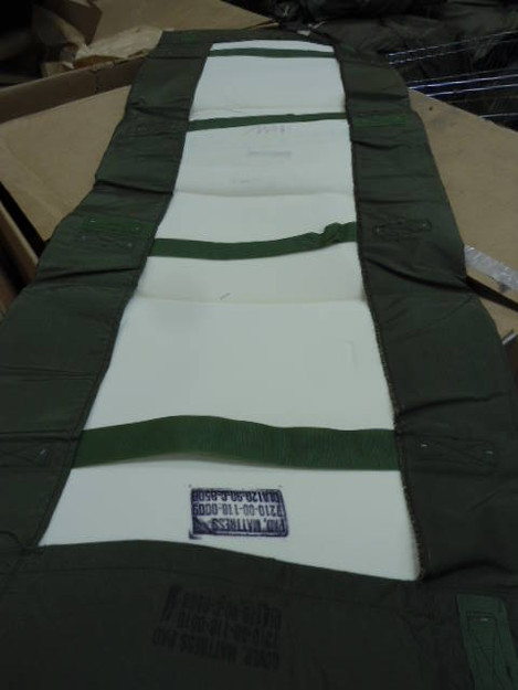 U.S. Military Nylon Mattress Pad (new)