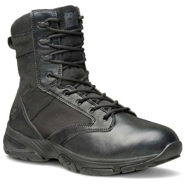Men's Timberland Pro® Valor™ Tactical 8″ Size-Zip Soft Toe Work Boots