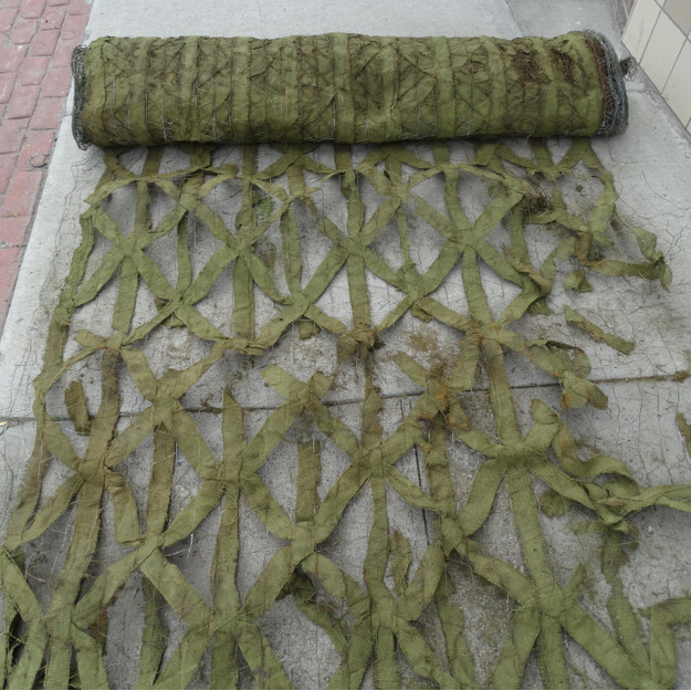 U.S. Army WWII Camouflage Netting Roll in Green