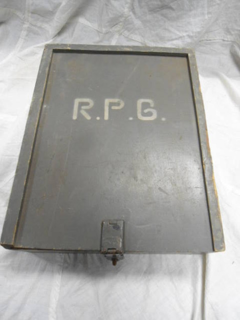 German Army Carpenter's Box