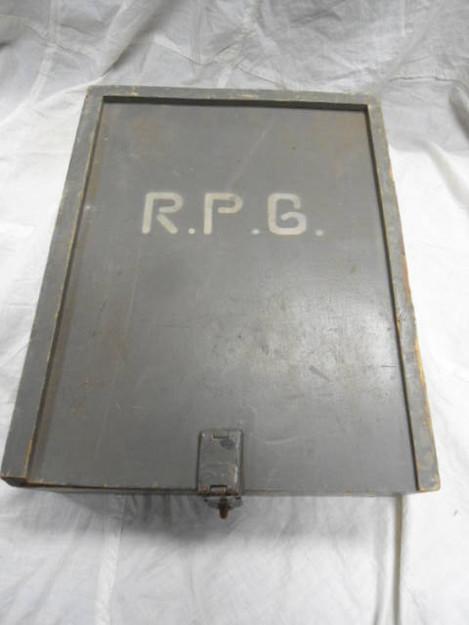 German Army Carpenter's Box
