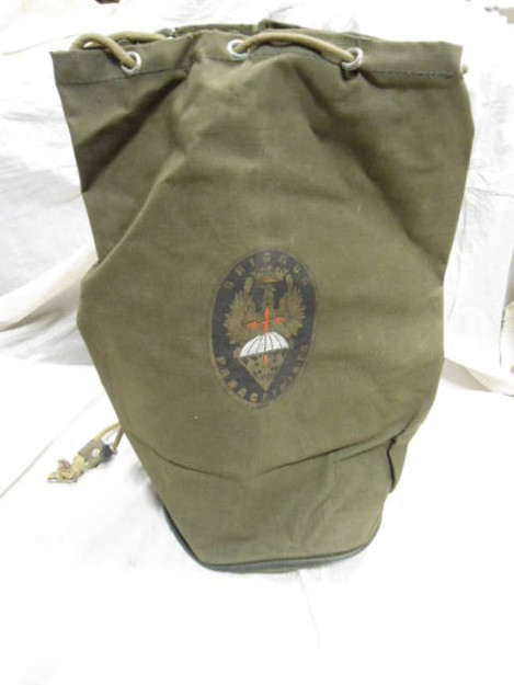 "Spanish Military ""Brigada Paracaidista"" Bag"