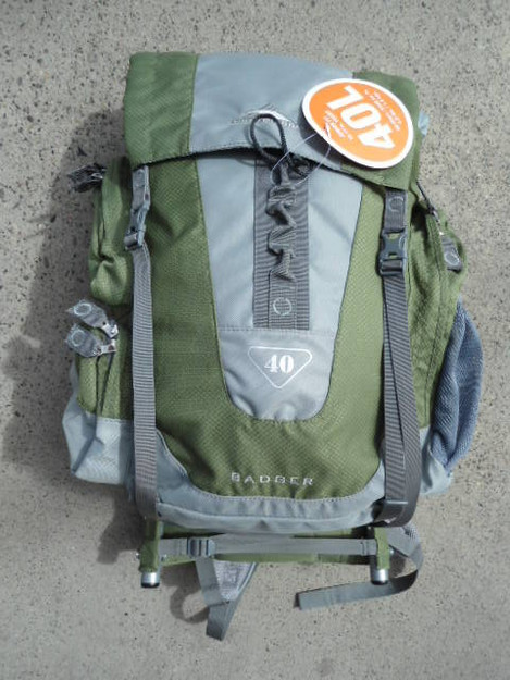 High Sierra Badger 40 Frame Backpack