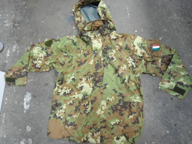 Italian Army Vegetato Gore-Tex Jacket with Hood
