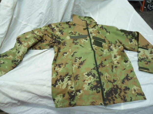 Italian Army Vegetato Lightweight Jacket
