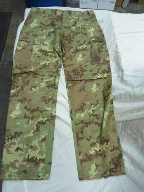 Italian Army Vegetato BDU Pants