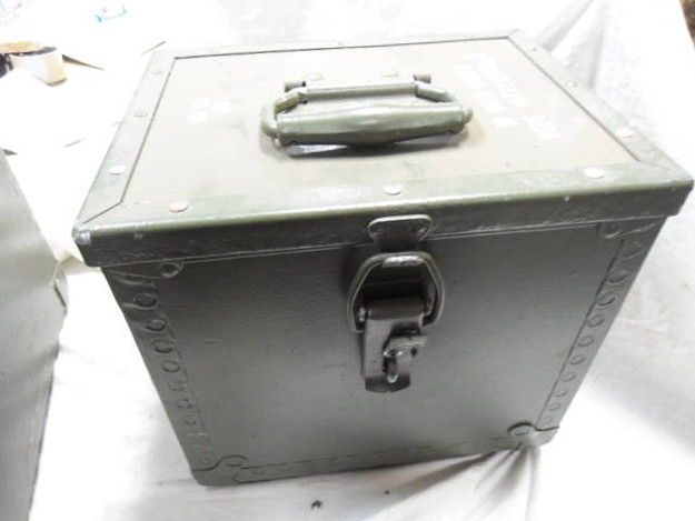 Swedish Army Small Storage Box