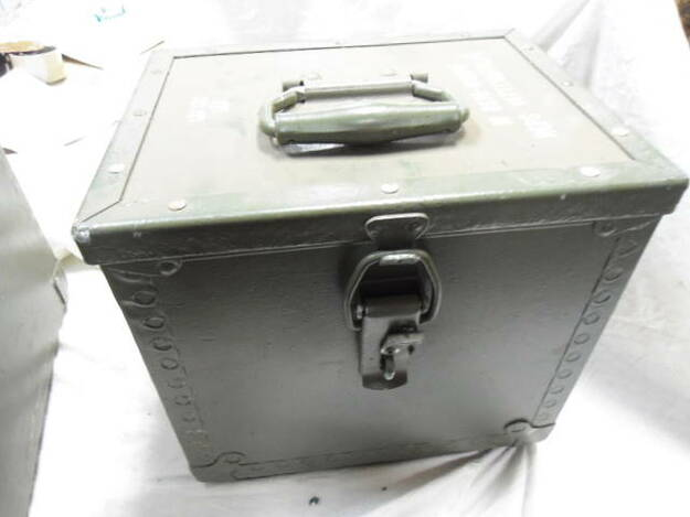 Swedish Army Small Storage Box