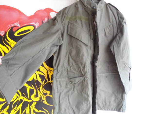 Belgian Army Field Jacket