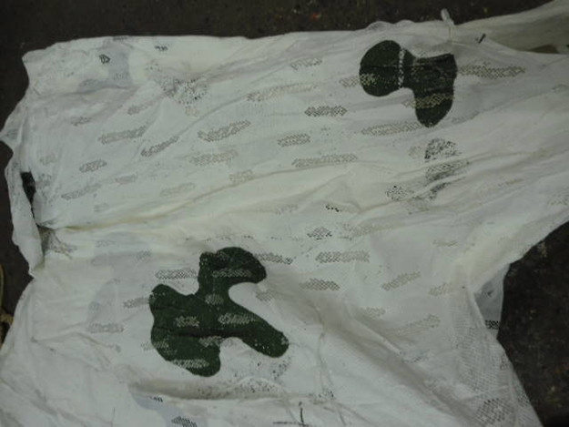 Czech Army 27′ x 45′ Snow Camouflage Net
